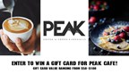Peak Cafe Grand Opening Sweepstakes