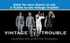 Vintage Trouble Ticket Giveaway
