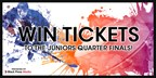 Win 2 Tickets to the Juniors!