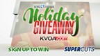 Supercuts week 2 Holiday Giveaway