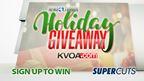 Supercuts (week1): Holiday Giveaway