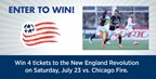 Win New England Revolution Tickets!