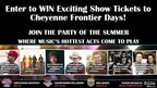 Cheyenne Frontier Days- Ticket Giveaway