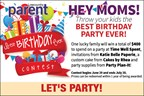 Enter to win the best birthday party ever!