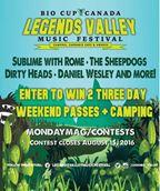 Legends  Valley Music Festival