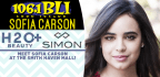 MEET SOFIA CARSON AT THE SMITH HAVEN MALL!