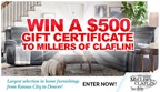 Win $500 from Miller's of Claflin!
