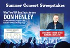 CMAC Concert Sweeps - Don Henley tickets