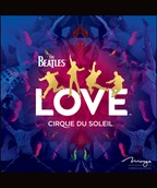 CD of The Beatles LOVE soundtrack