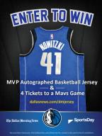 Dallas Mavericks Jersey & Tickets