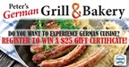 Peter's German Grill & Bakery - Sweepstakes
