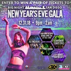 Big Night San Diego New Years Eve Gala