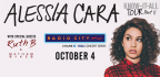 WIN TICKETS TO SEE ALESSIA CARA AT RADIO CITY MUSI