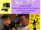News with a Twist Gleason GoPro Giveaway