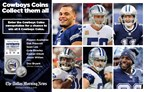 Cowboys Coins Sweepstakes 12/10-12/14