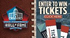 Pro Football Hall of Fame Ticket Giveaway