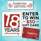 Complete Suite 18 Years Anniversary Giveaway