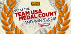 Guess the Team USA Medal Count and Win $1,023