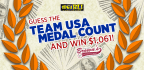 Guess the Team USA Medal Count and Win $1,061