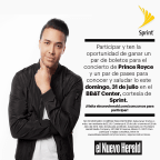 ENH- Prince Royce Meet & Greet
