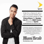 MH- Prince Royce Meet and Greet