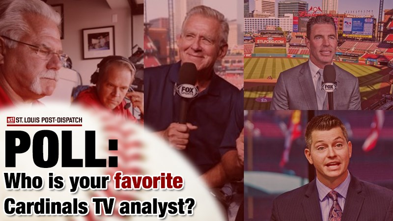 Post-Dispatch poll: Who is your favorite Cardinals TV analyst?