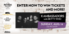 Battery Park - X Ambassadors with Betty Who Concert Sweepstakes