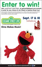 Enter to win tickets to Sesame Street Live at Fox