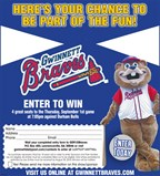 Enter to win 4 great seats to the Gwinnett Braves'