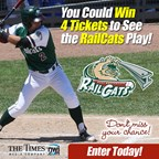 Railcats Ticket Giveaway 2018