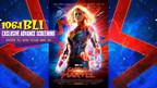 WIN TICKETS TO SEE AN ADVANCE SCREENING OF CAPTAIN MARVEL!