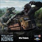 Universal Orlando � Skull Island Reign of Kong 2016 Sweepstakes