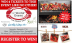 Sparc's Maine Event Live Lobster Bake Giveaway