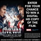 Captain America DVD Giveaway