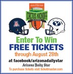 2016 Cactus Kickoff Classic Ticket Giveaway