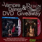 The Vampire Diaries and Reign DVD Giveaway