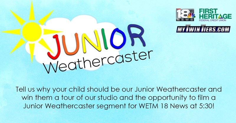Junior Weathercaster