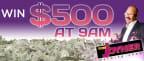 TJMS $500 Giveaway