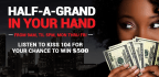 Half-A-Grand In Your Hand App Contest