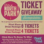 Taste of North Park Ticket Giveaway