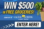 Cache Creek $500 Grocery Gift Card