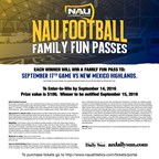 NAU Family Fun Passes