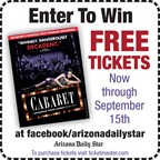 2016 Cabaret Ticket Giveaway