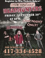 Win Tickets to see the Kentucky Headhunters