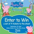 Peppa Pig Ticket Giveaway