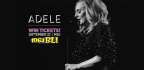 WIN TICKETS TO SEE THE SOLD OUT ADELE SHOW AT MSG!