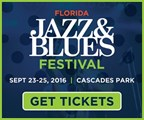Florida Jazz & Blues Festival Ticket Giveaway