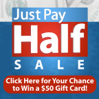 WPXI Just Pay Half Hot Card Giveaway