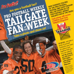 Pro Football Weekly Tailgate Fan of the Week