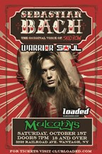 Win Tickets To See Sebastian Bach!